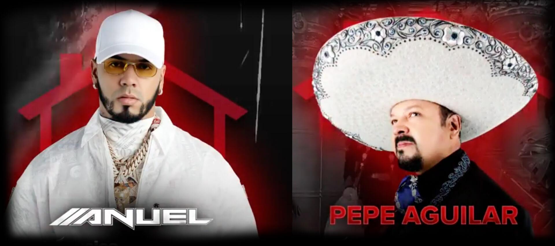 Anuel AA y Pepe Aguilar, te Cantan EN VIVO (Vota aquí por las canciones que deseas oír)
