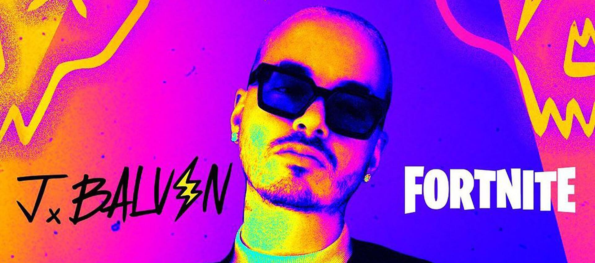 J Balvin – El Primer Latino en Actuar Dentro del Videojuego, Fortnite