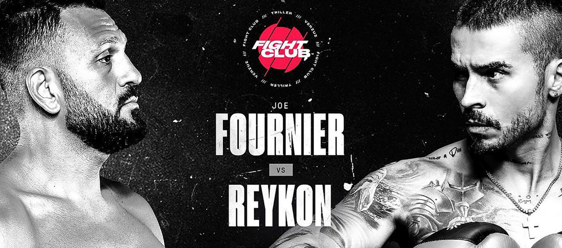 La Insólita Pelea Entre Reykon y un Boxeador Norteamericano